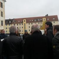 Besichtigung des Mc Graw Geländes in München mit Kommunalpolitiker 2013