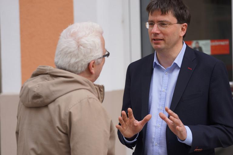 Florian von Brunn im Gespräch