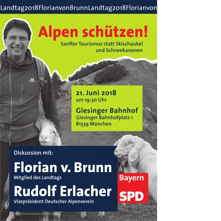Alpen Schützen! Sanfter Tourismus statt Skischaukel und Schneekanonen